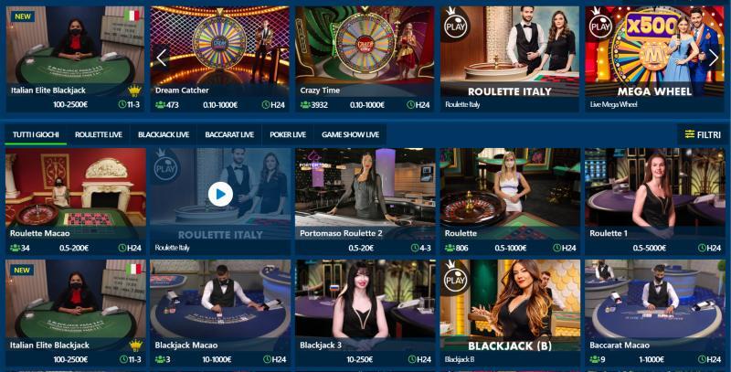 Live casino Betflag